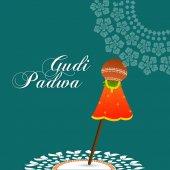 Gudi Padwa astratto