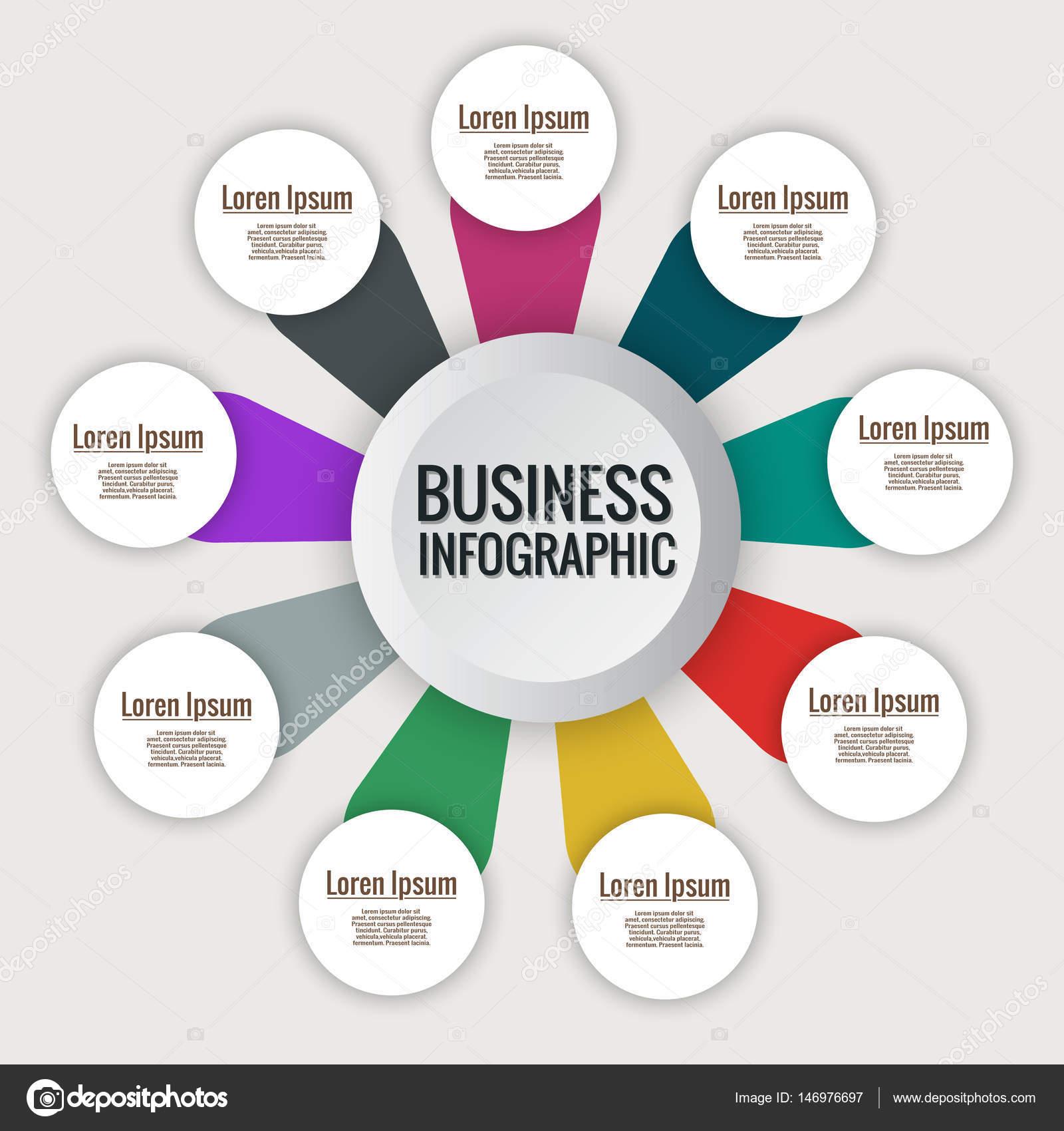 Creative vector infographics