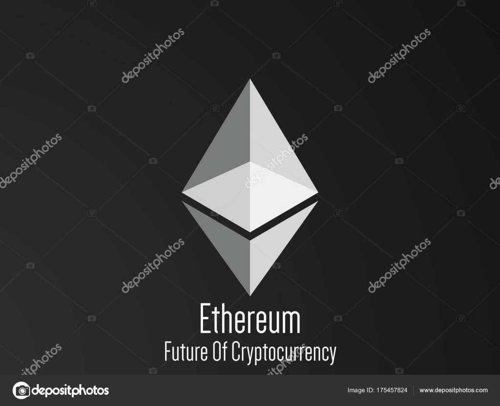 Nice Creative Abstract Ethereum Cryptocurrency Nice Creative ...