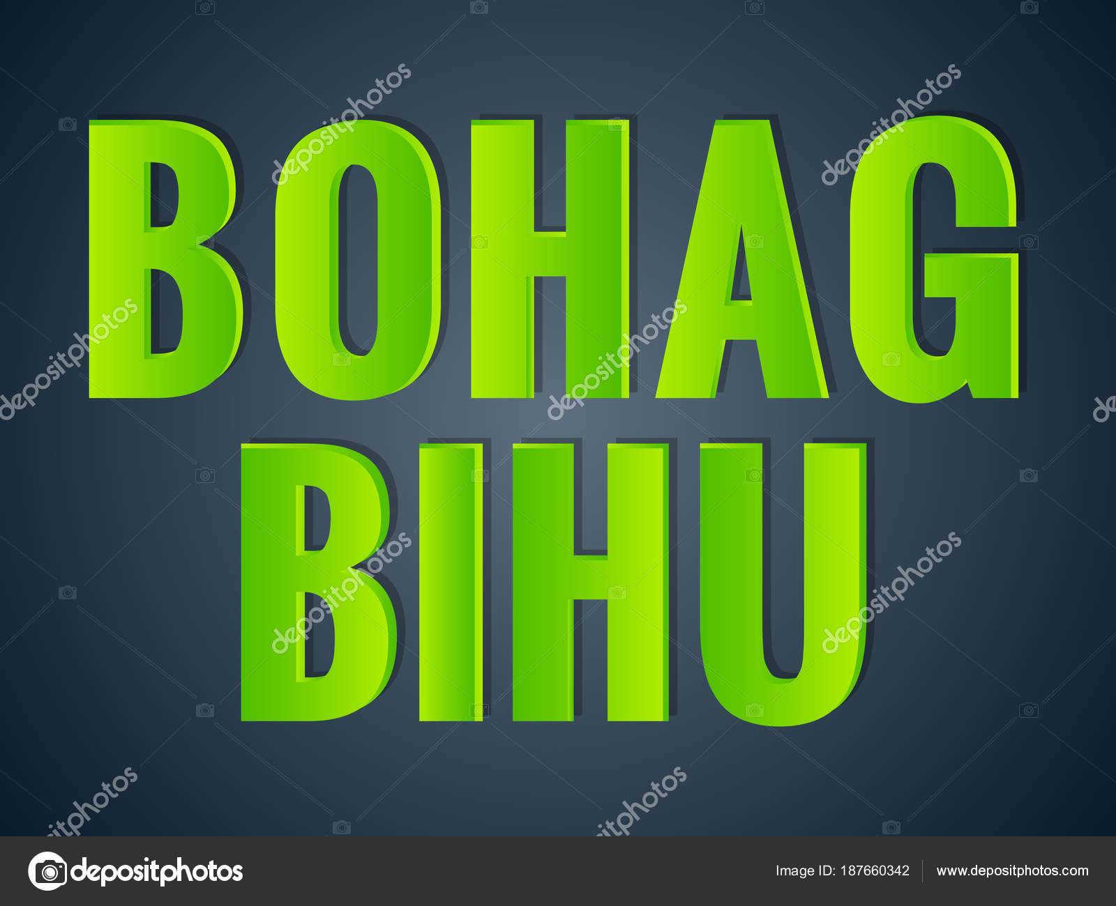 Nice Beautiful Abstract Happy Bohag Bihu Nice Creative Design