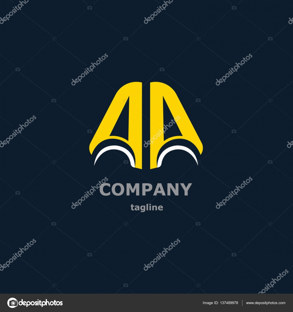 Letter logo for the company name stock vector 22maximkaail company name stock vector a and a vector decorative symbols for design vector by 22maximkaail buycottarizona