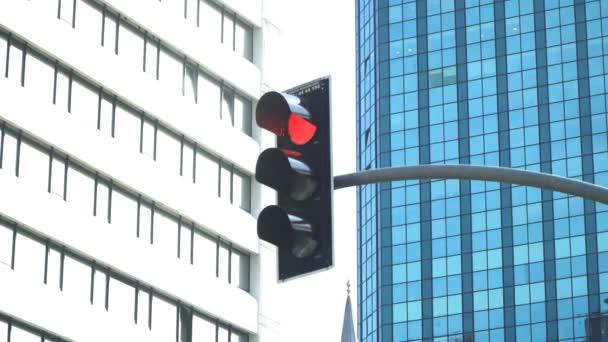 Městském provozu lampy a věže