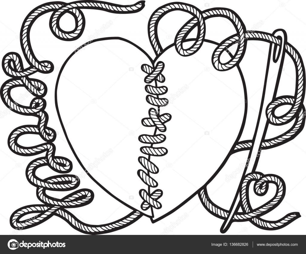 Para colorear pag para adulto. Rotos corazones para embalaje de ...