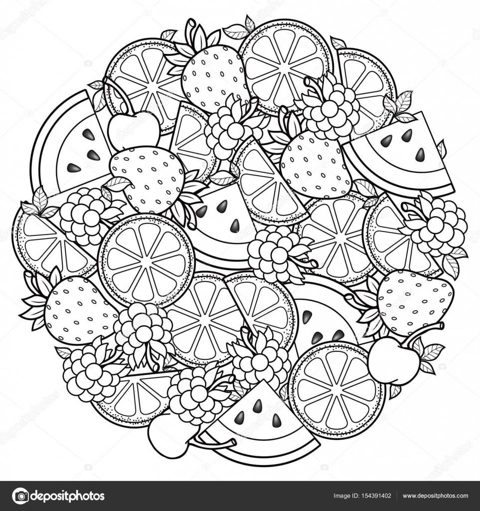 векторные раскраски книга для взрослых для медитации и