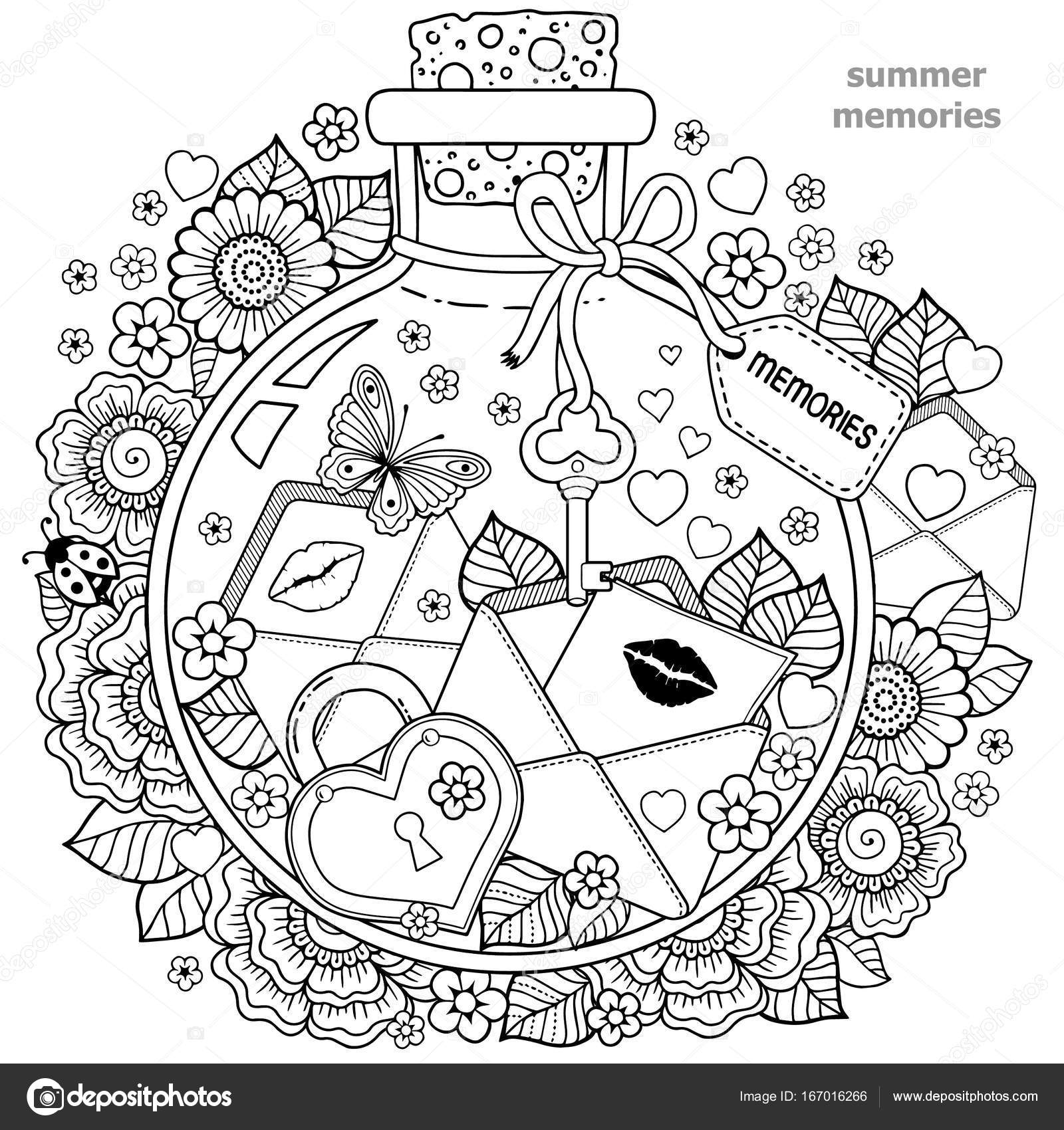 kleurplaten voor volwassenen vector kleurboek voor