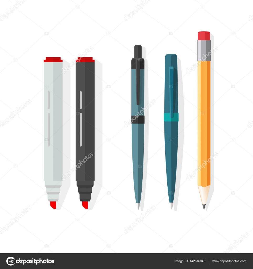 Картинка красный карандаш