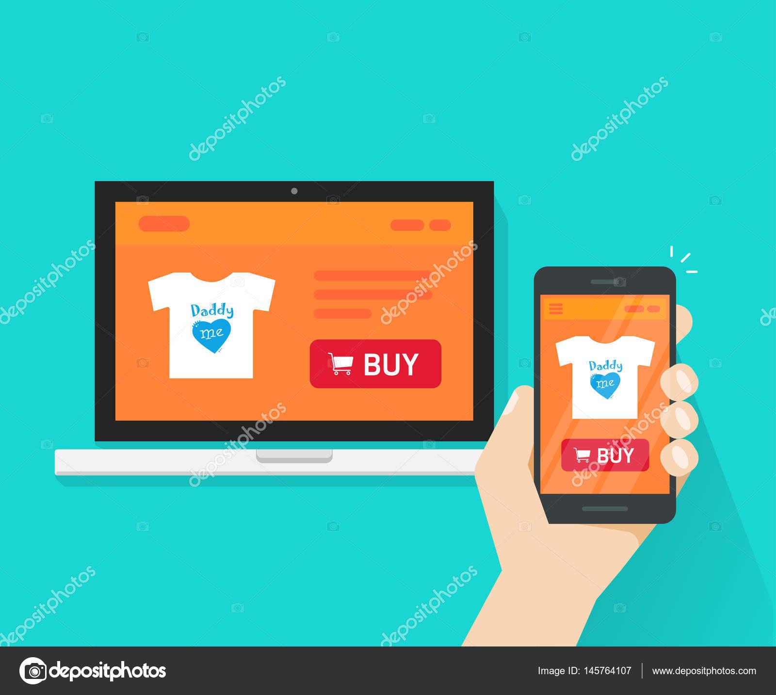 Responsive design negozio di internet negozio online sito for Negozi online design
