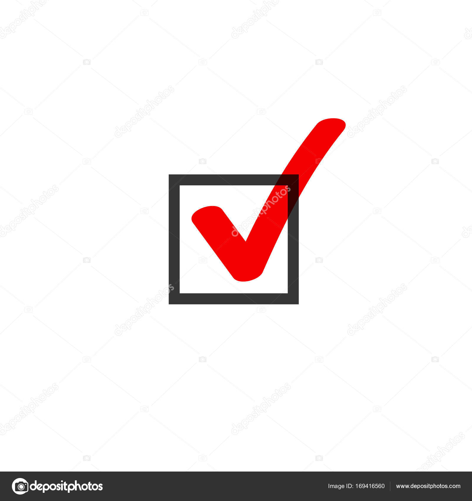 Tick icon vector symbol doodle style red checkmark isolated on tick icon vector symbol doodle style red checkmark isolated on white background checked icon biocorpaavc Image collections