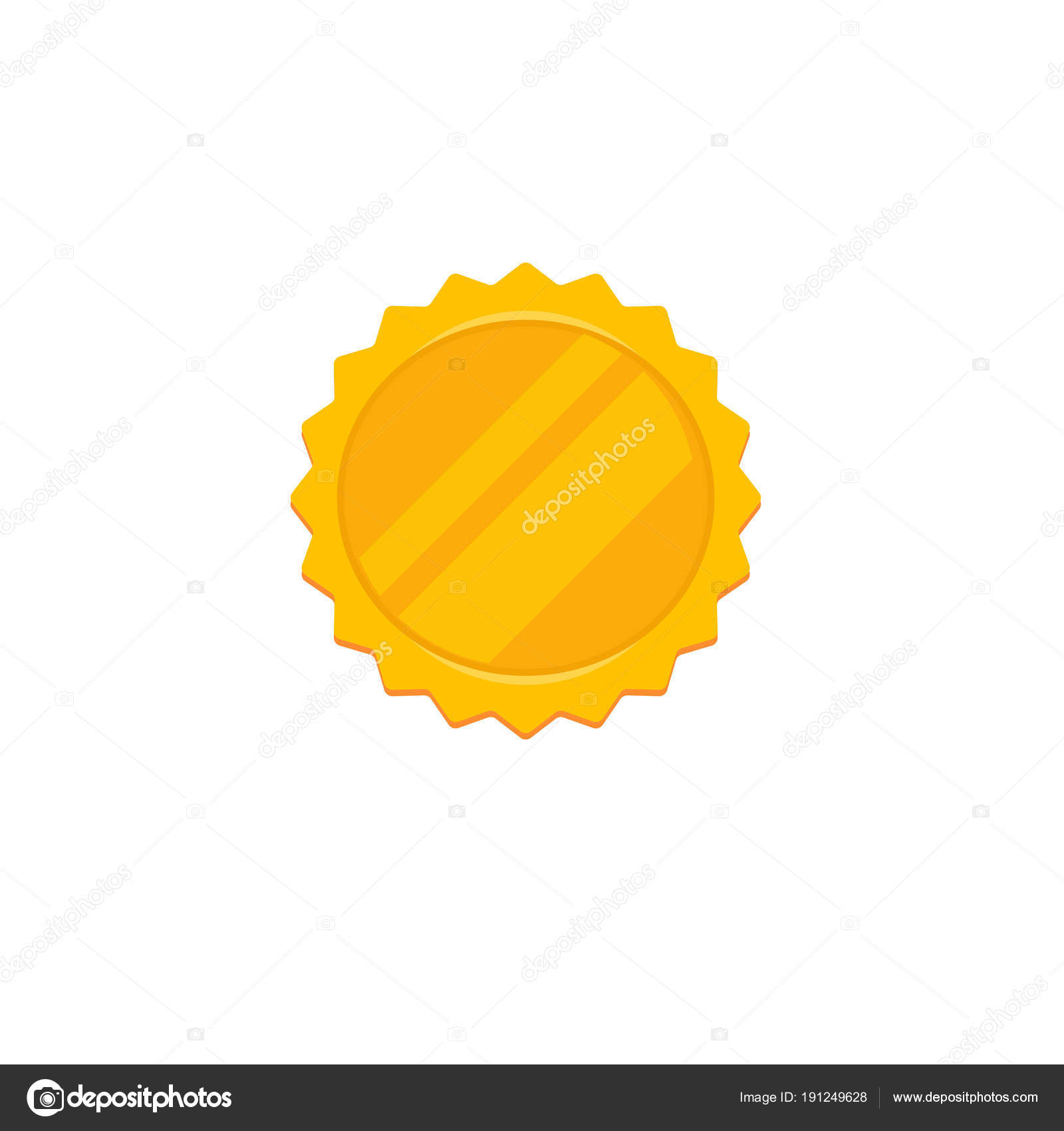 gold round quality best illustration sign vector stock label depositphotos
