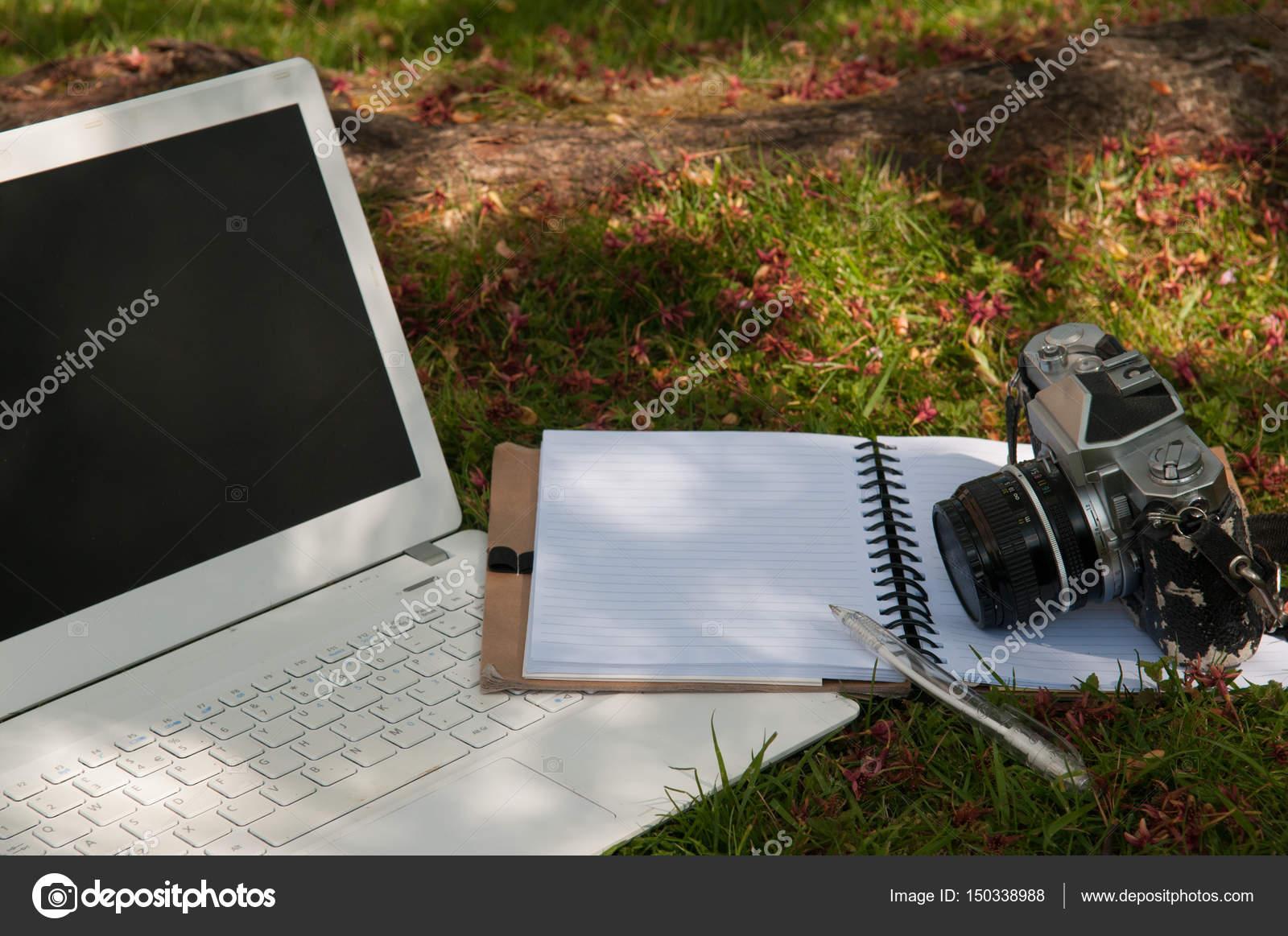 Vintage-Stil Foto Blog Hintergrund oder Vorlage — Stockfoto ...