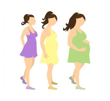Motherhood and pregnancy concept.