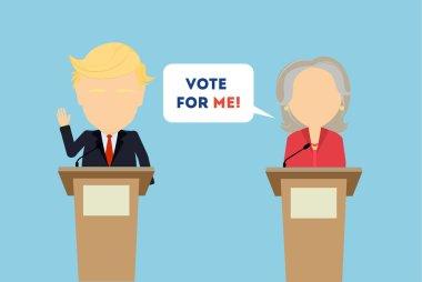 Debates on election.