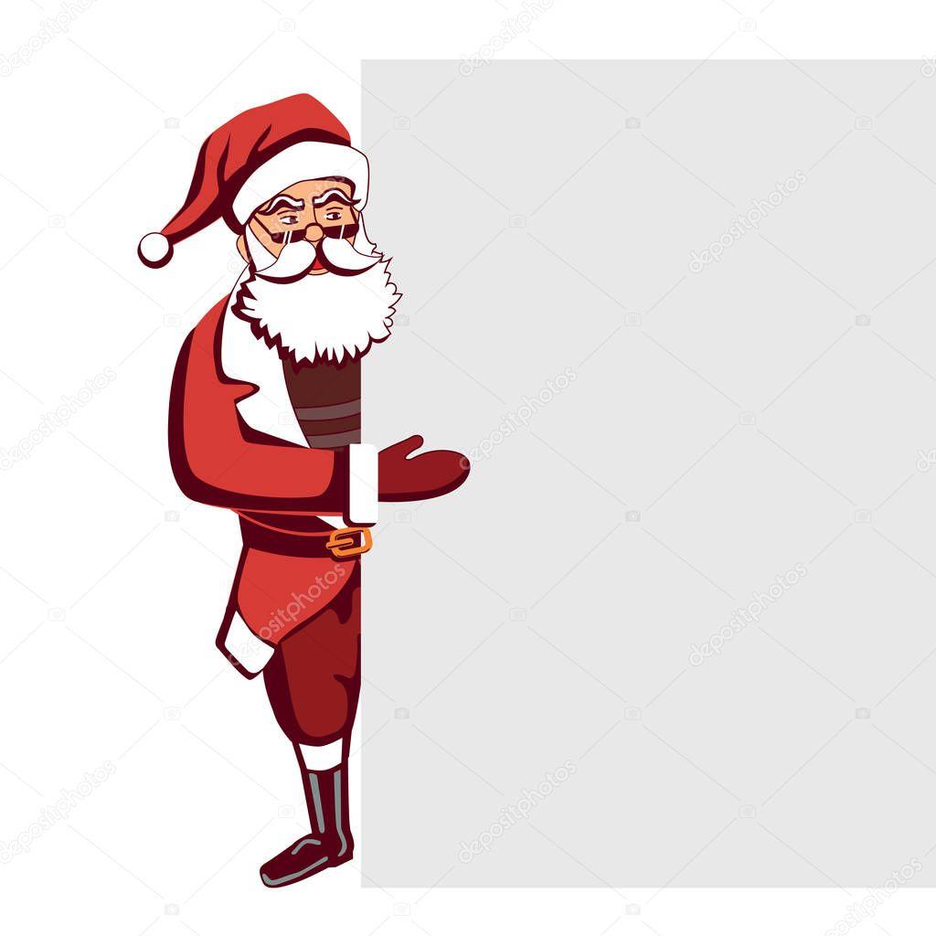 Santa Claus template. — Stock Vector © inspiring.vector.gmail.com ...