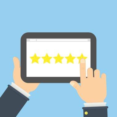 Rating stars app.