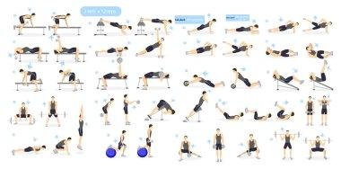 Workout girl set.