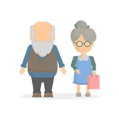 Isolated elders couple.