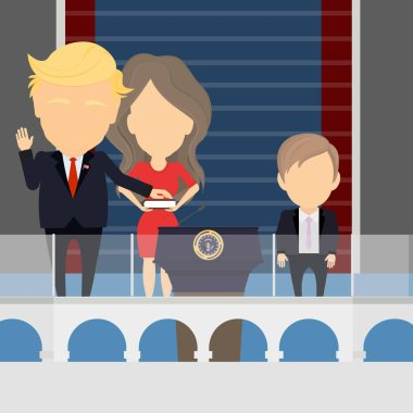Inauguration of Trump.