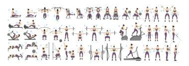 Women workout set.