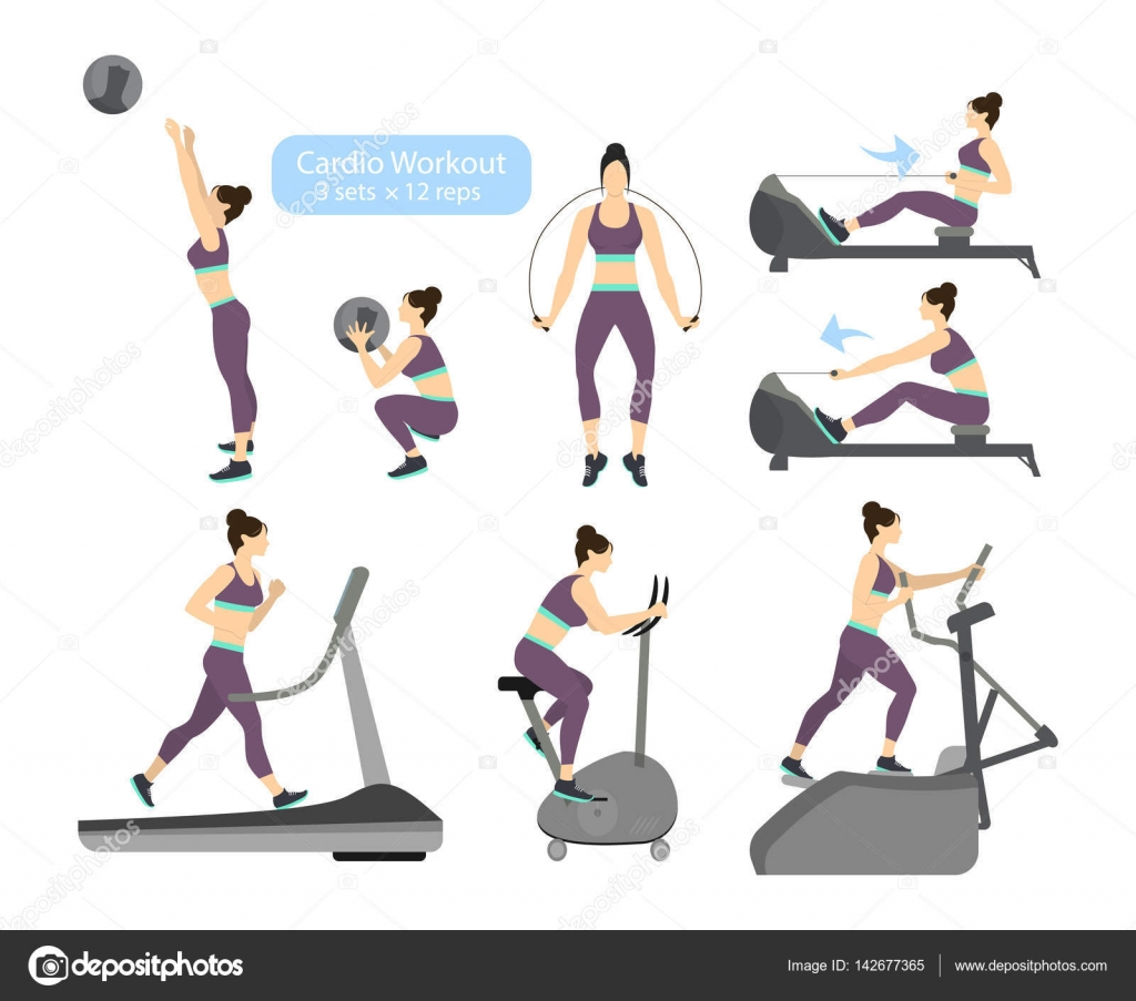oefeningen afvallen