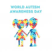 Fotografie World Autism Awareness Day.