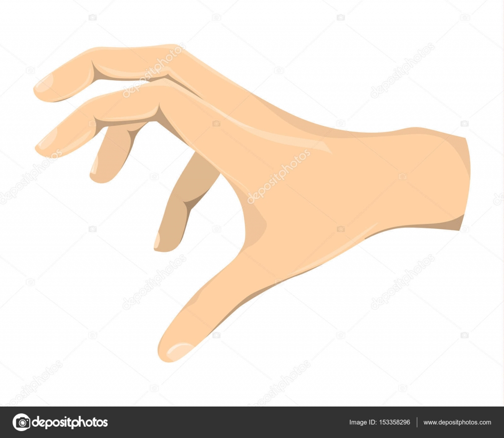 isolated grabbing hand stock vector inspiring vector gmail com