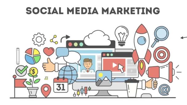 szociális média marketing.