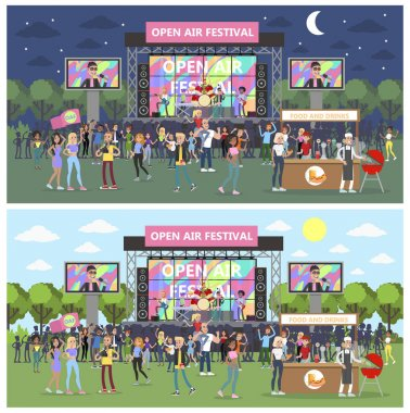 Open air festival.