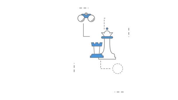 Startup line animation.