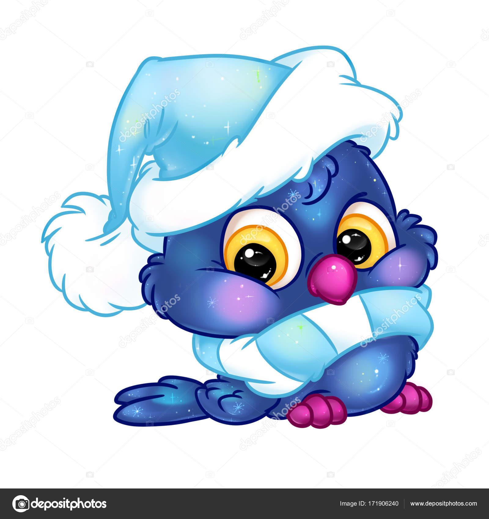 Dessin Anime Noel De Caractere Chouette L Hiver Photographie