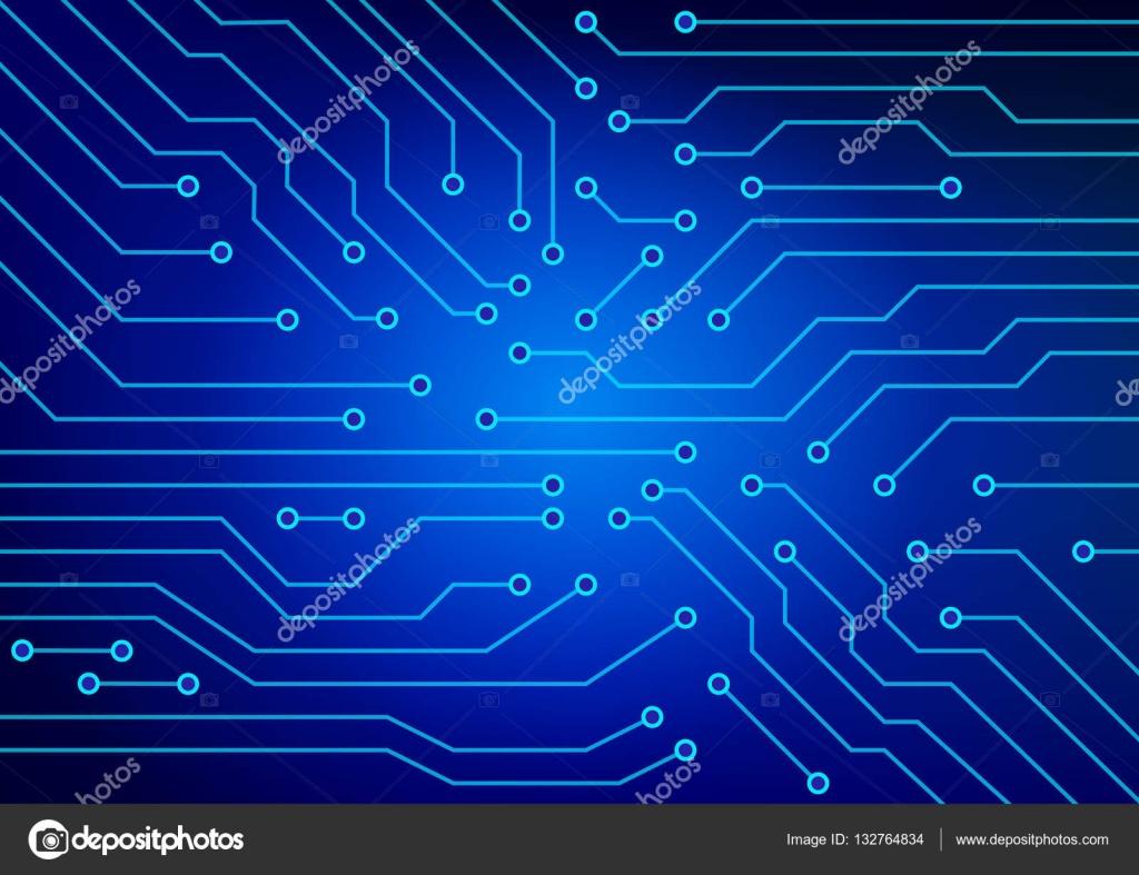 Circuito Eletricos : A imagem abstrata de circuitos elétricos utilizados em diversos