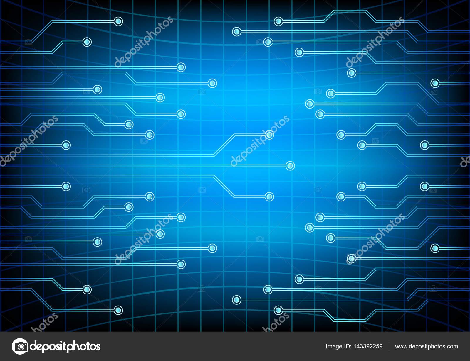 Circuito Eletrico : Circuito elétrico ilustração em vetor eps u vetor de stock