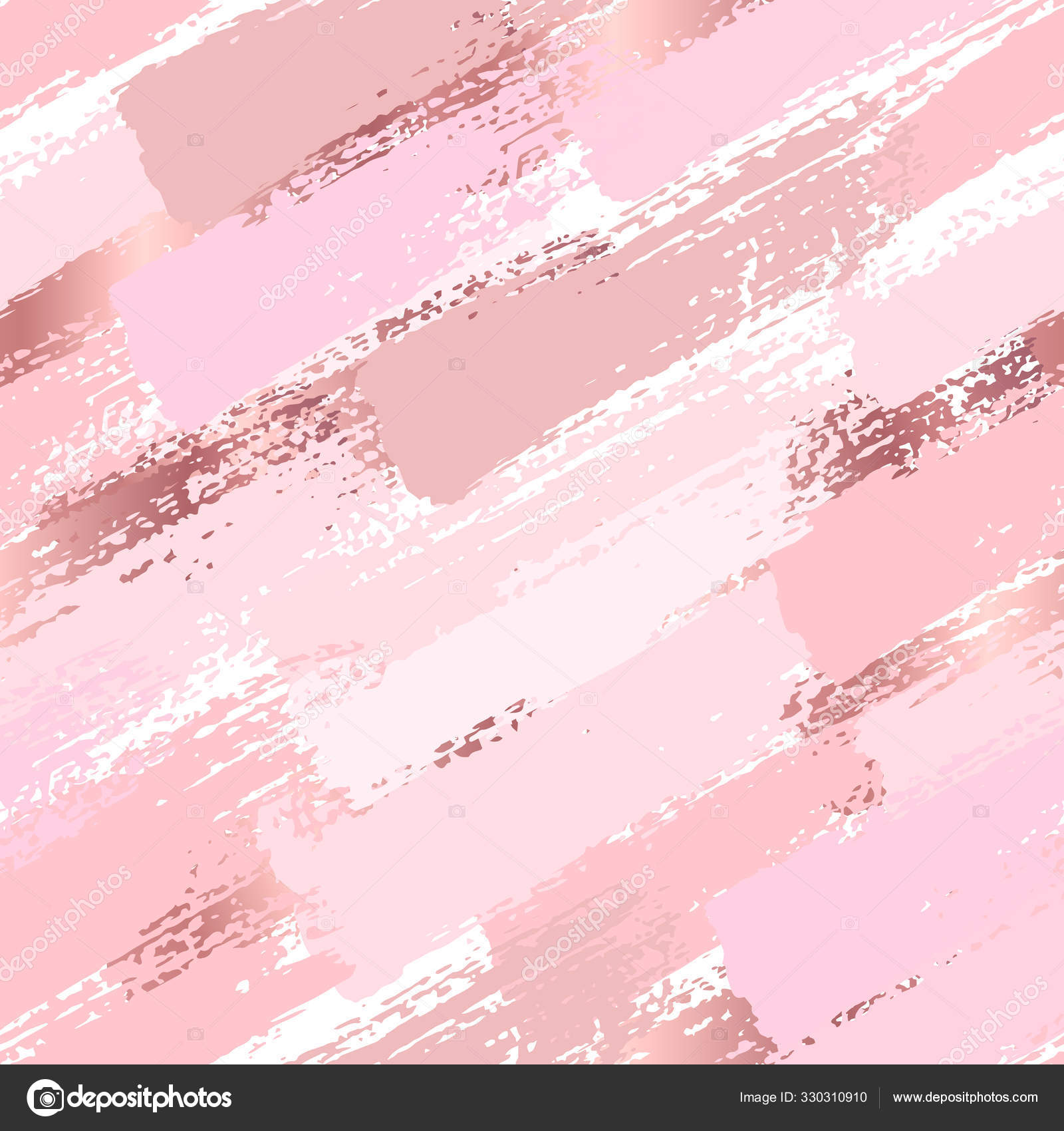 Seamless Pattern With Pastel Pink Brush Strokes Abstract Vector Stock Vector C Artemisia1508 Gmail Com 330310910