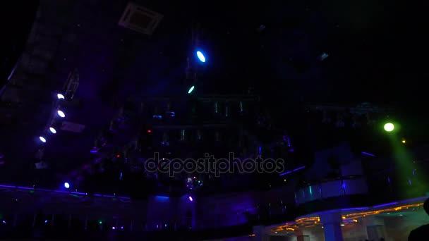 Illuminazione al concerto luci del palco palla da discoteca
