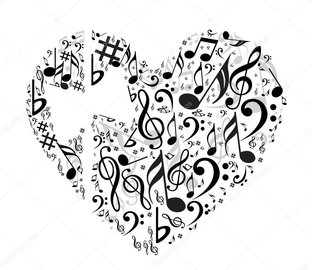 Heart With Symbols Stock Vector Lahiruudara 128536132