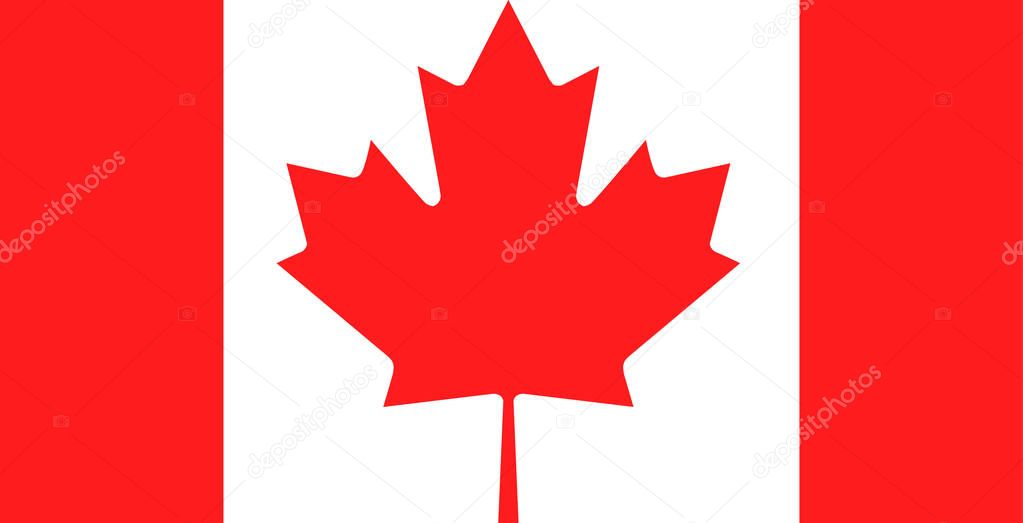 Creative Canada Flag Icon