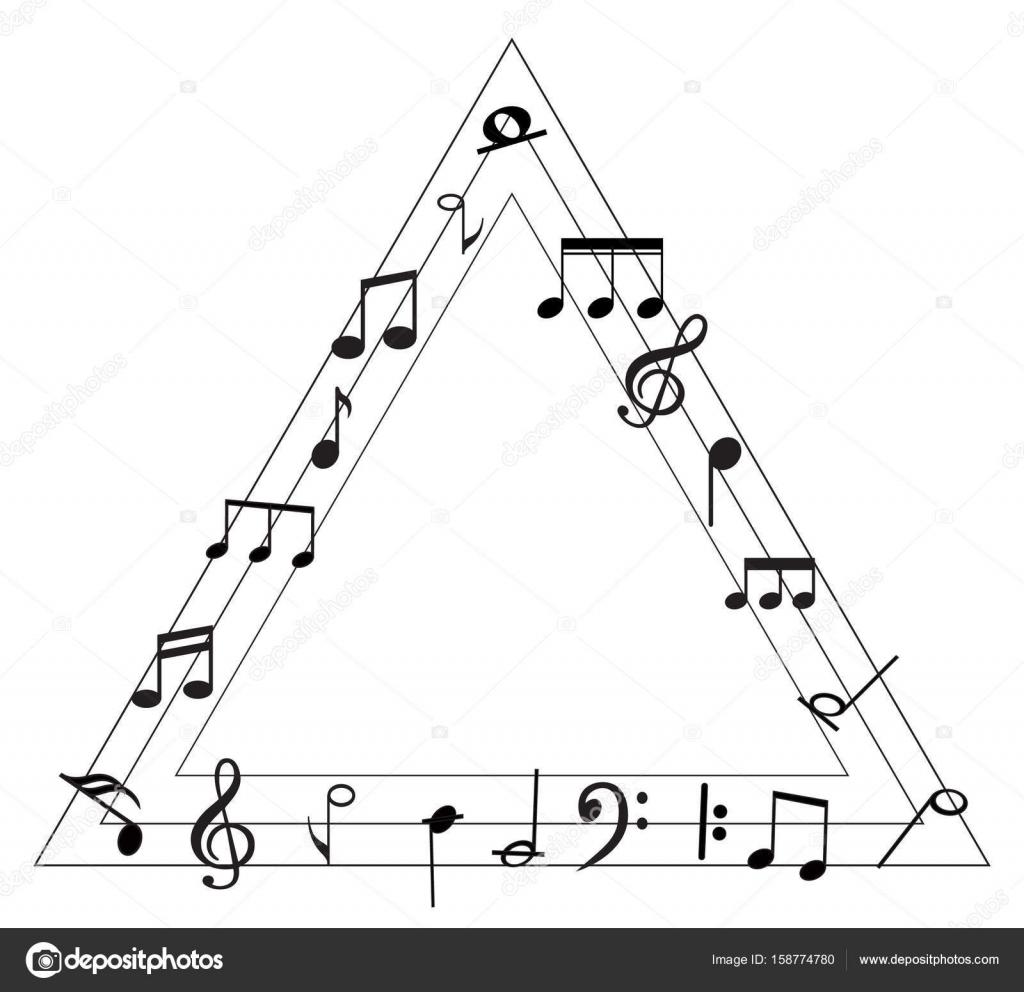 Music Note With Music Symbols Stock Vector Lahiruudara 158774780