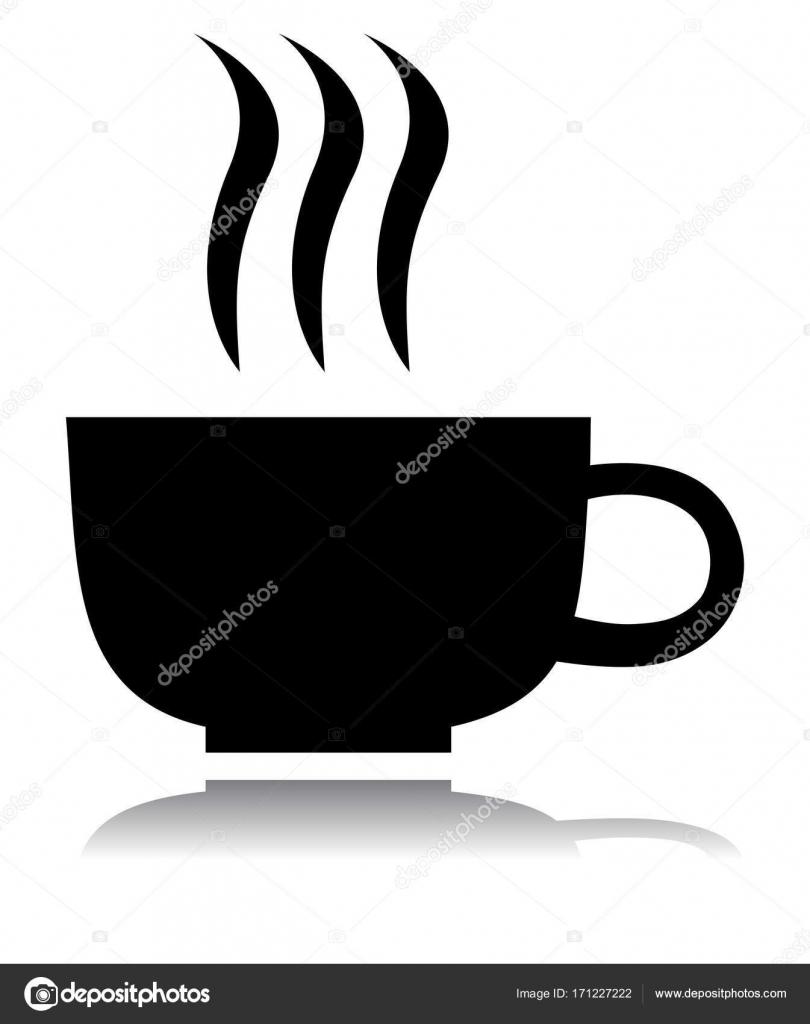 tea cup silhouette stock vector lahiruudara 171227222