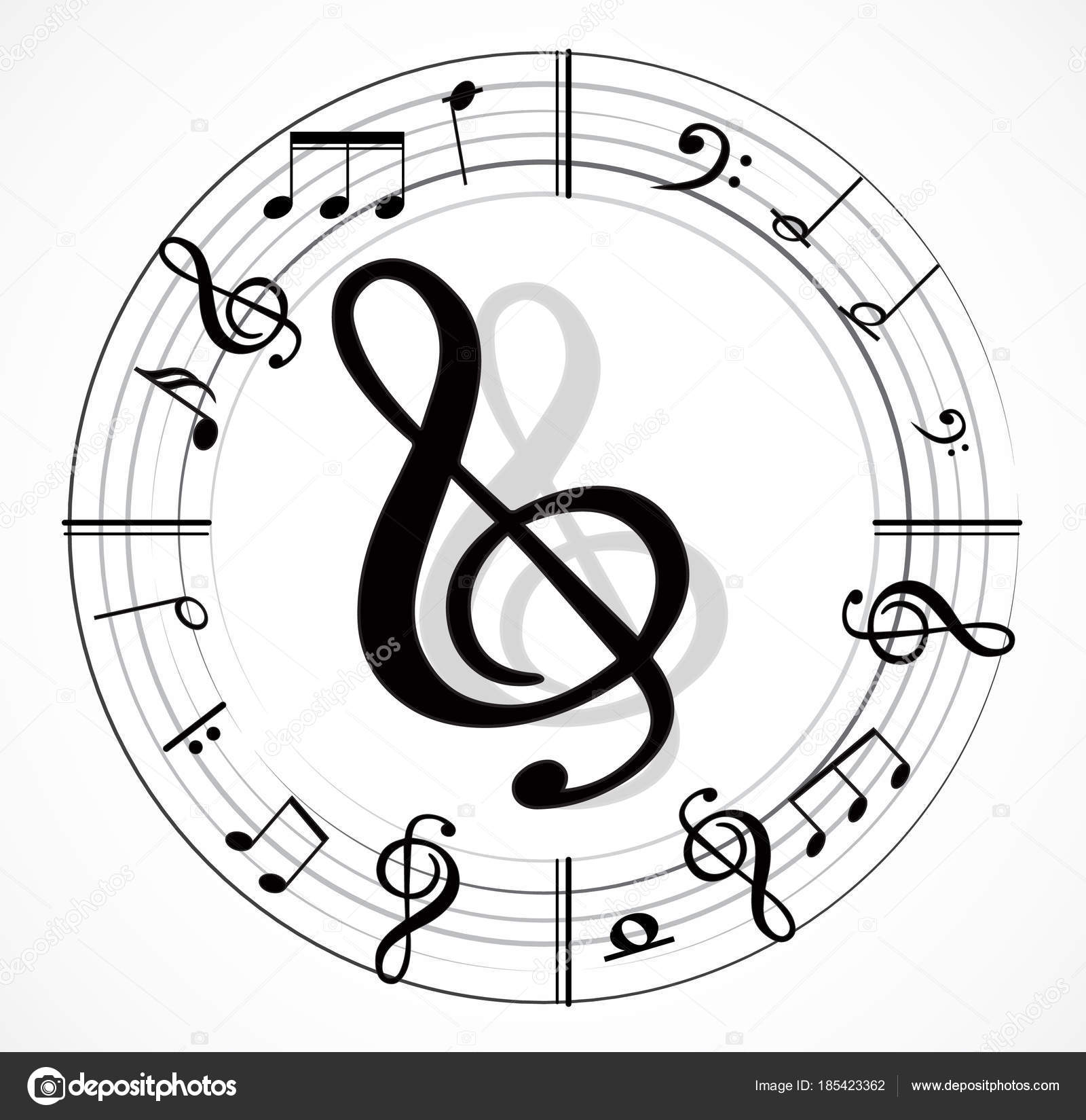 Music note different music symbols stock vector lahiruudara music note different music symbols stock vector buycottarizona