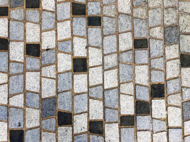 colored paving slabs texture