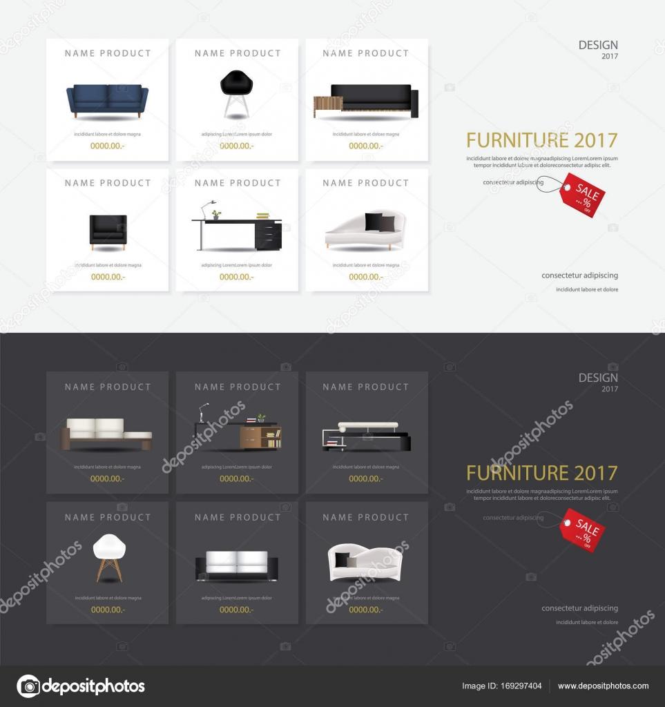 furniture sale banner. 2 Banner Furniture Sale Design Template Vector Illustration \u2014 Stock