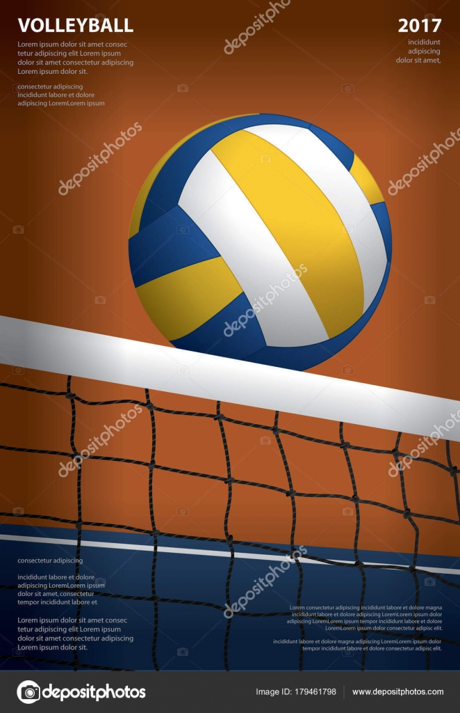 Volleyball Template   Volleyball Template Volleyball Tournament Poster Template