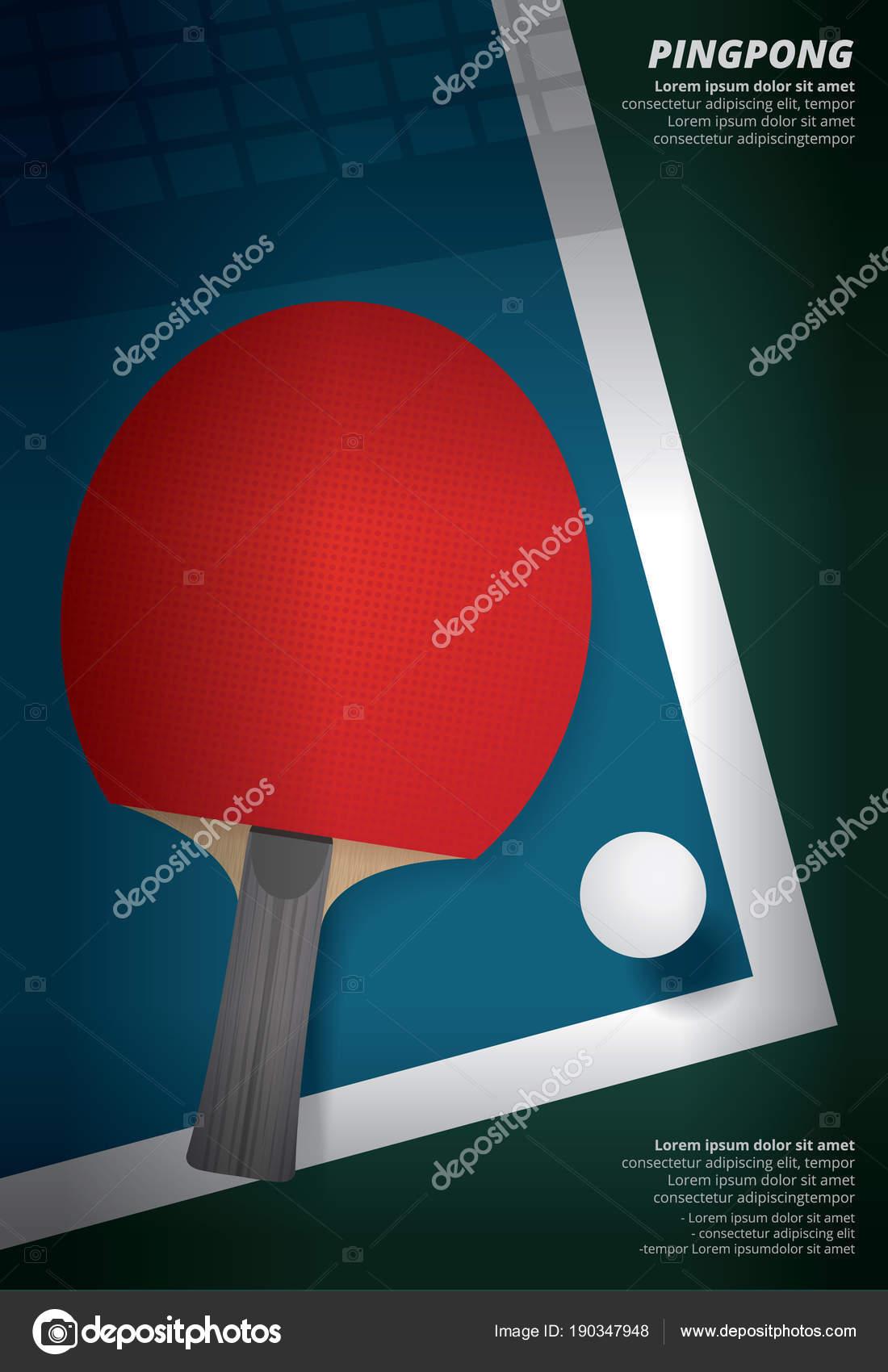 Lujoso Plantilla De Ping Pong Paddle Festooning - Ejemplo De ...