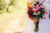 Fotografie nevěstu, Svatební kytice
