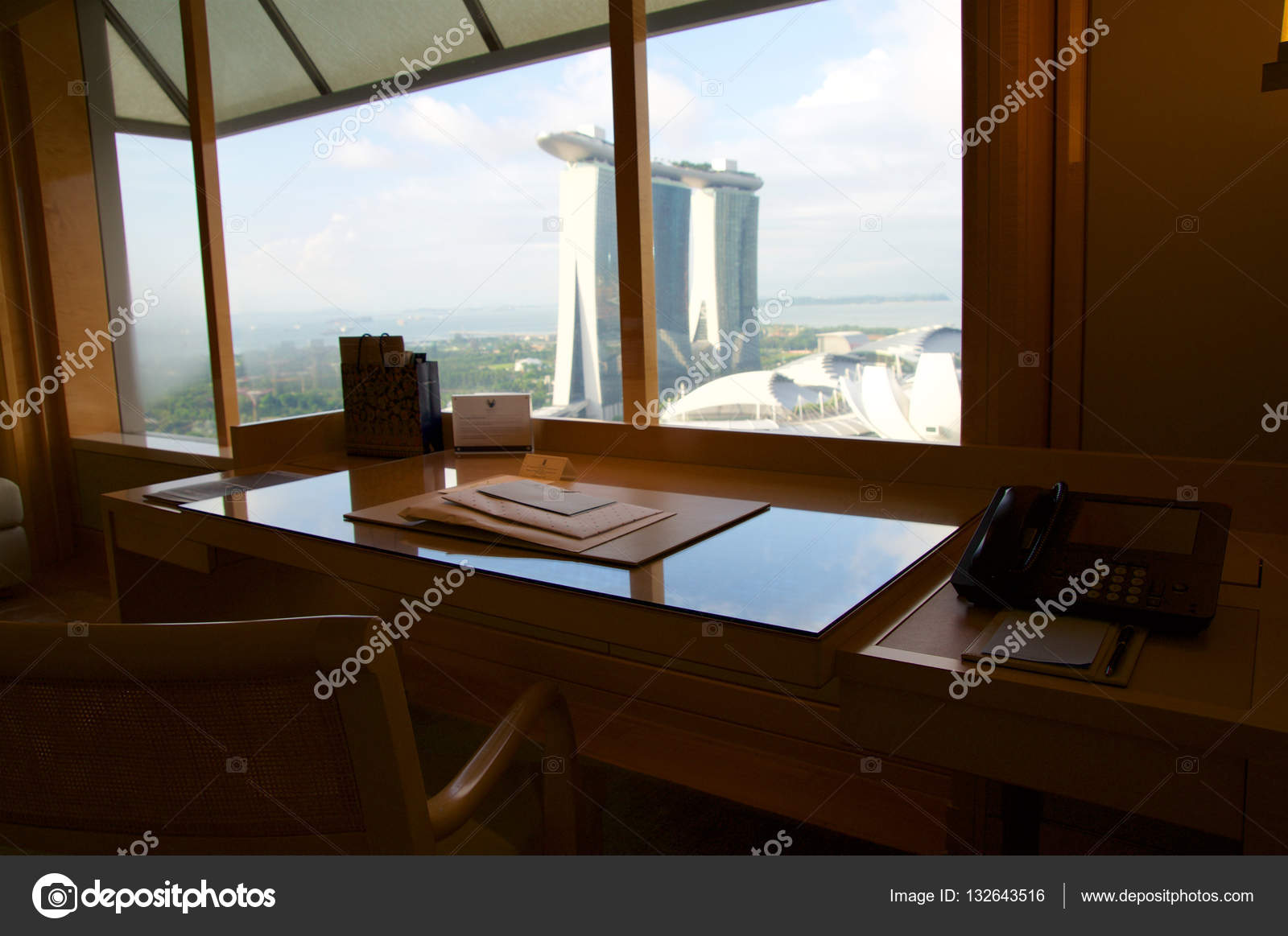 Singapour juillet luxe chambre d hôtel avec un