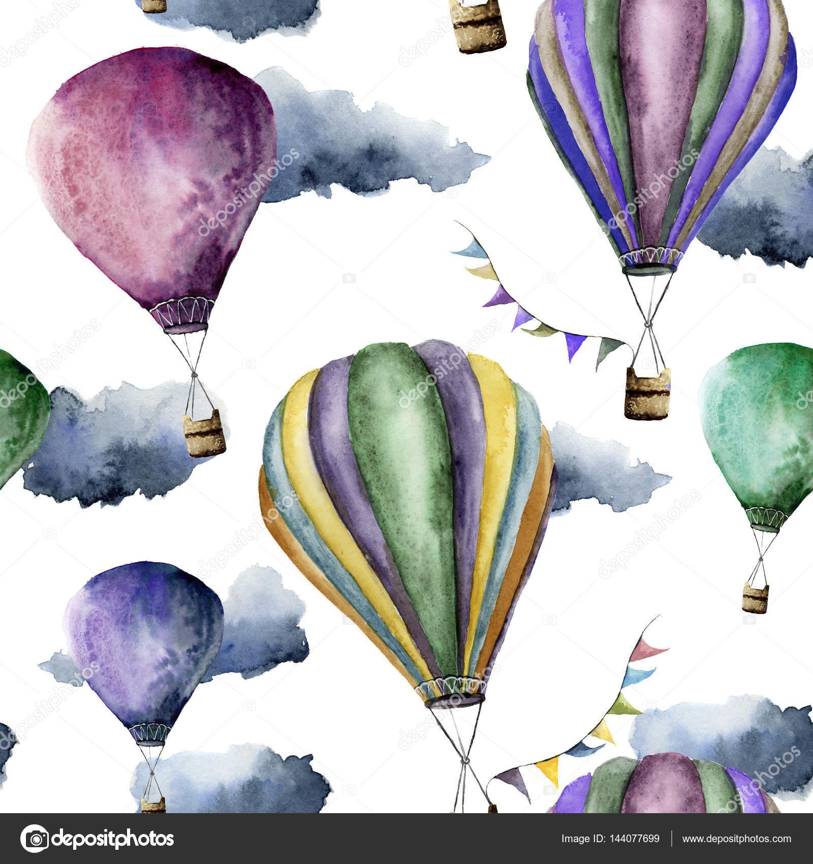 Воздушный шар на белом фоне 5