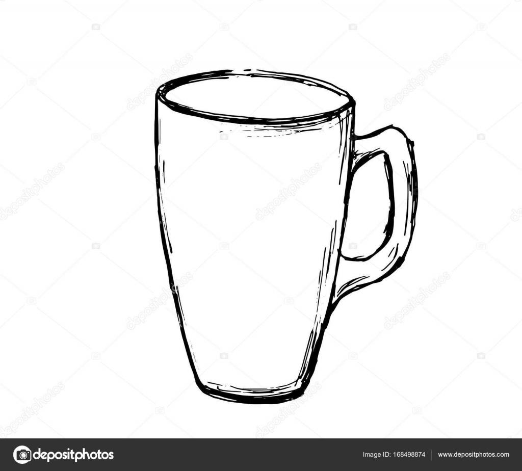 Vector Hand Drawn Sketch Coffee Mug Illustration For Design Print Or Background Vector Image By C Derbisheva Vector Stock 168498874