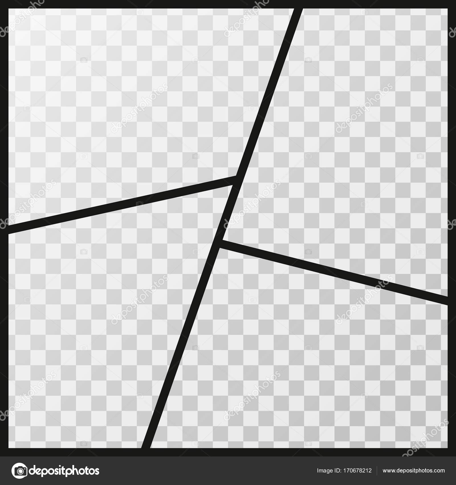 Vektor-Bilder-Foto-Collage isoliert auf einem transparenten ...
