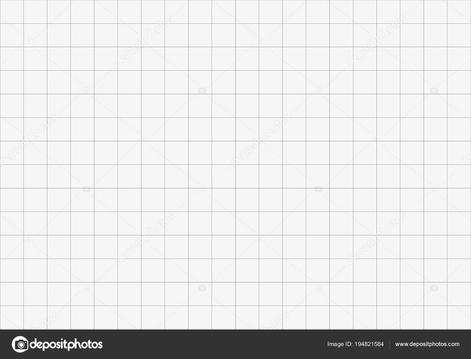 grid on a white background seamless paper grid vector illustration