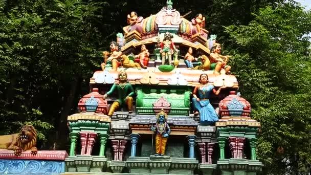 Külső hagyományos Hindu templom