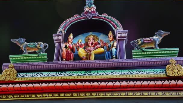 Vnější tradiční hinduistický chrám Indie